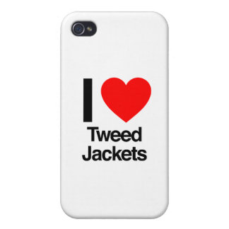 i love tweed jackets iPhone 4/4S cover