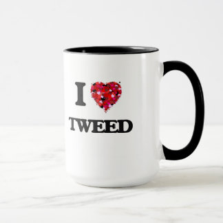 I love Tweed Mug
