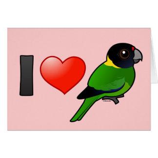 I Love Twenty-eight Parrots Cards