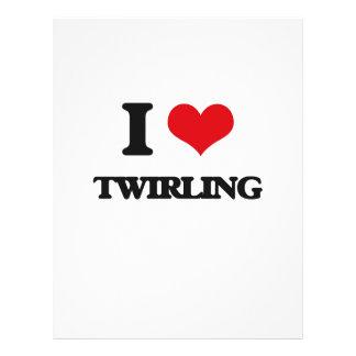 I love Twirling 21.5 Cm X 28 Cm Flyer