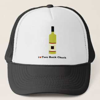 I Love Two Buck Chuck Trucker Hat