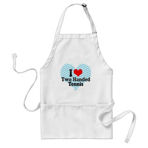 I love Two Handed Tennis Aprons
