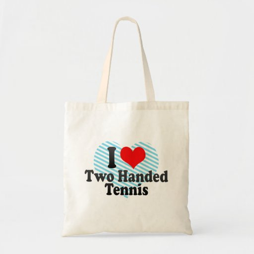 I love Two Handed Tennis Bags