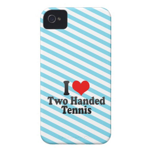 I love Two Handed Tennis Blackberry Bold Cover