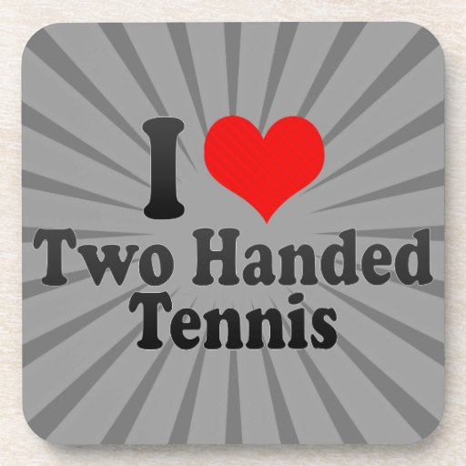I love Two Handed Tennis Coasters