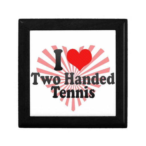 I love Two Handed Tennis Jewelry Box