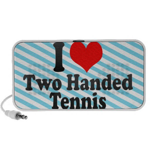 I love Two Handed Tennis PC Speakers