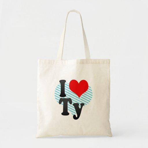 I love Ty Bags