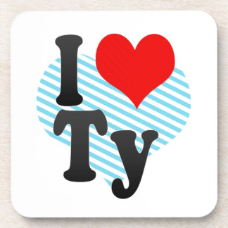 I love Ty Beverage Coasters