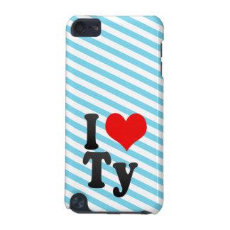 I love Ty iPod Touch (5th Generation) Case