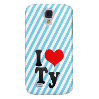 I love Ty Samsung Galaxy S4 Case