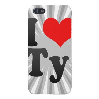 I love Ty iPhone 5 Cover