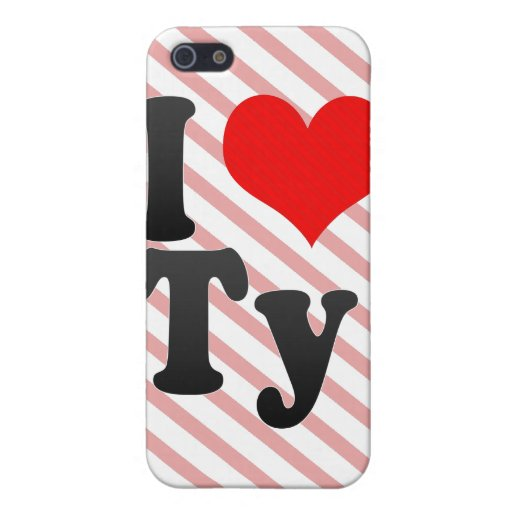 I love Ty Cover For iPhone 5