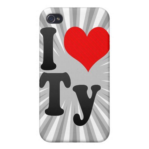 I love Ty Cases For iPhone 4