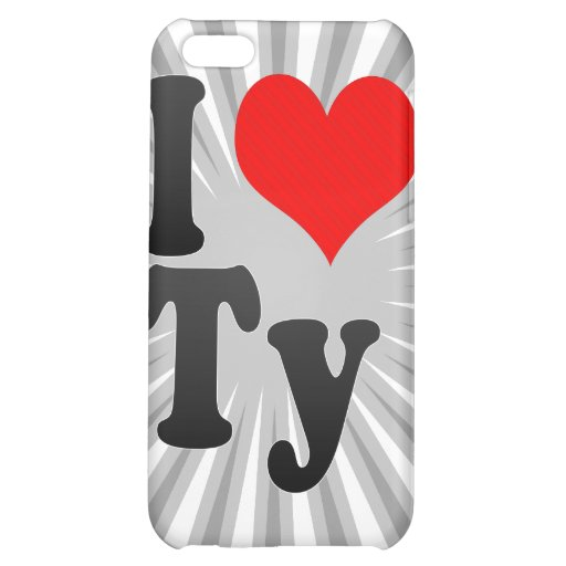 I love Ty iPhone 5C Case