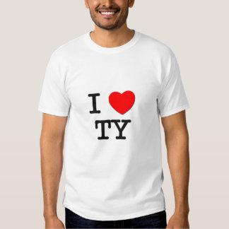 I Love Ty Shirts
