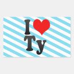 I love Ty Stickers