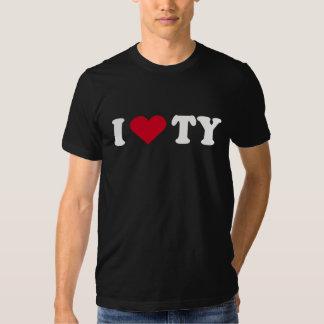 I LOVE TY T-SHIRTS