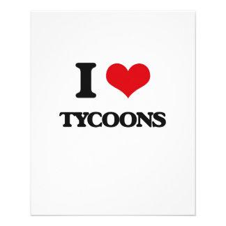 I love Tycoons 11.5 Cm X 14 Cm Flyer