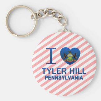I Love Tyler Hill, PA Keychains