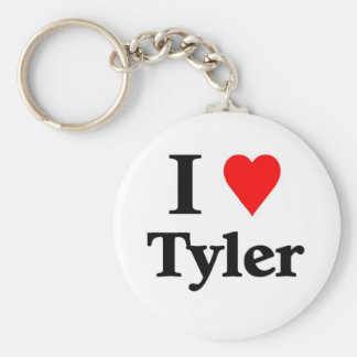 I love Tyler Key Chain
