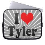 I love Tyler Laptop Computer Sleeve