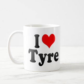 I Love Tyre, Lebanon Mug