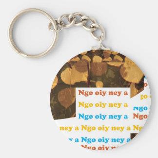 I LOVE U CANTONESE CHINA Language Culture Chinese Keychains