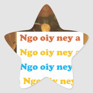 I LOVE U: CANTONESE CHINA Language Culture Chinese Sticker