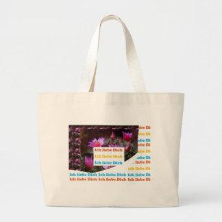 i love U :GERMAN LANGUAGE CULTURE ARTS Bags