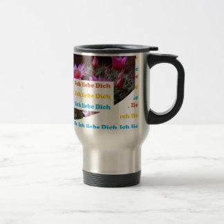 i love U :GERMAN LANGUAGE CULTURE ARTS Coffee Mug