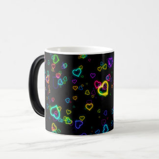 I Love U - Happy Neon Magic Mug