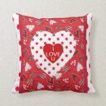 I LOVE U Heart Pillow