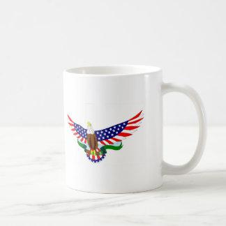 i love u s a basic white mug