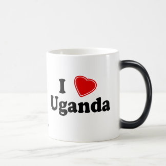 I Love Uganda Magic Mug