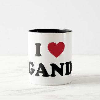 I Love Uganda Coffee Mug