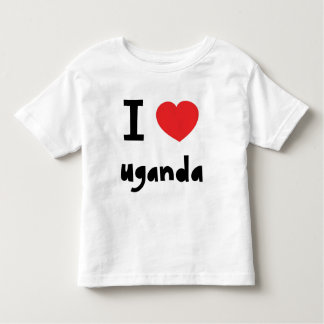 I love Uganda Toddler T-Shirt