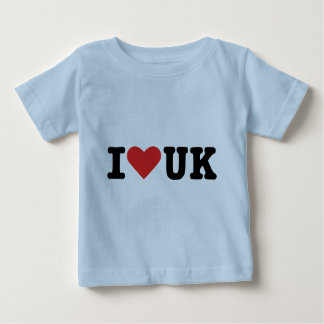 I love UK Baby T-Shirt