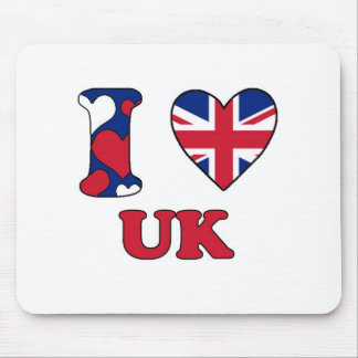 I love UK Mouse Mat
