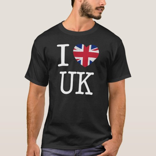 I Love UK Shirt (Dark)