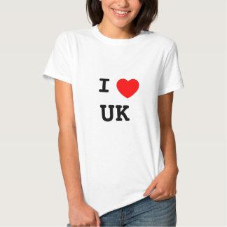 I LOVE UK TEE SHIRT