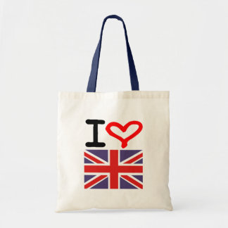 I love UK Tote Bag