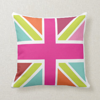 I love UK - Union Jack Cushion