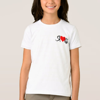 I love Ukraine~Girls Ringer Tee