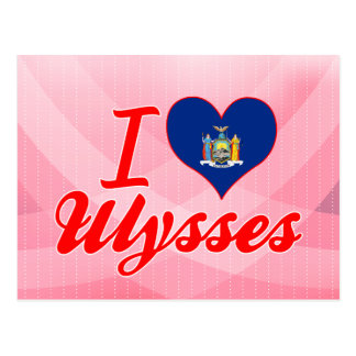 I Love Ulysses New York Post Cards
