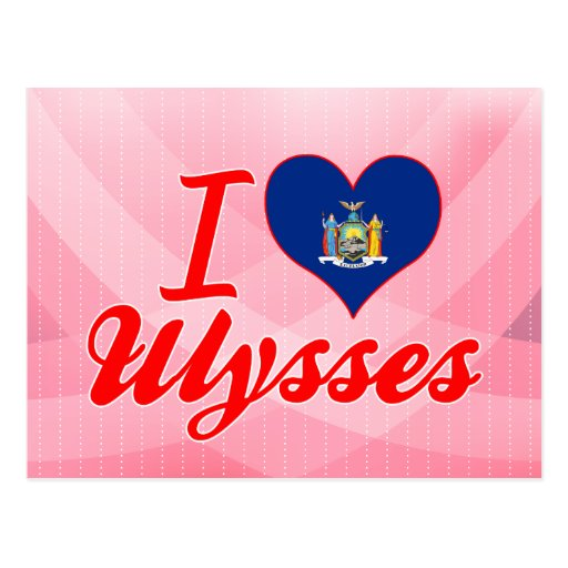 I Love Ulysses, New York Post Cards
