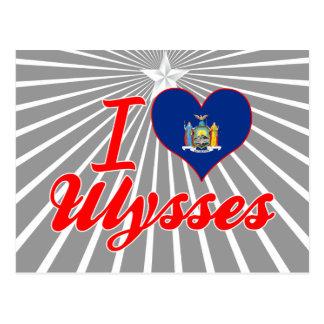 I Love Ulysses, New York Postcards
