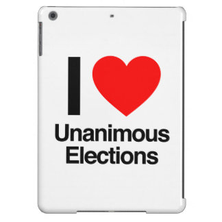 i love unanimous elections case for iPad air