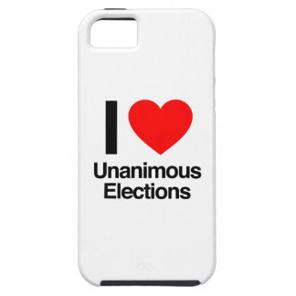 i love unanimous elections iPhone 5 covers