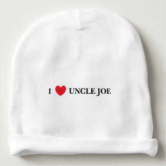 """""""I Love Uncle"""" Baby Hat Baby Beanie"""